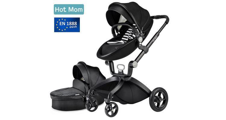 hot mom limited edition kombikinderwagen kinderwagen. Black Bedroom Furniture Sets. Home Design Ideas