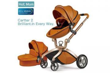 Hot-Mom Kombikinderwagen-mit mit Buggyaufsatz und Babywanne